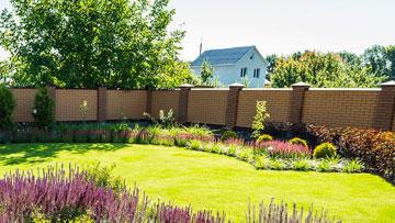 clôture pour votre jardin